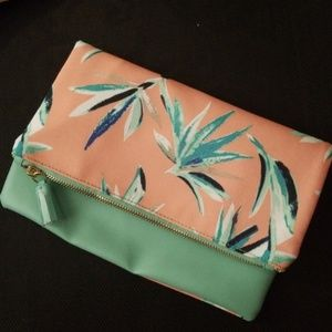 Rachel pally birds of paradise reversible clutch